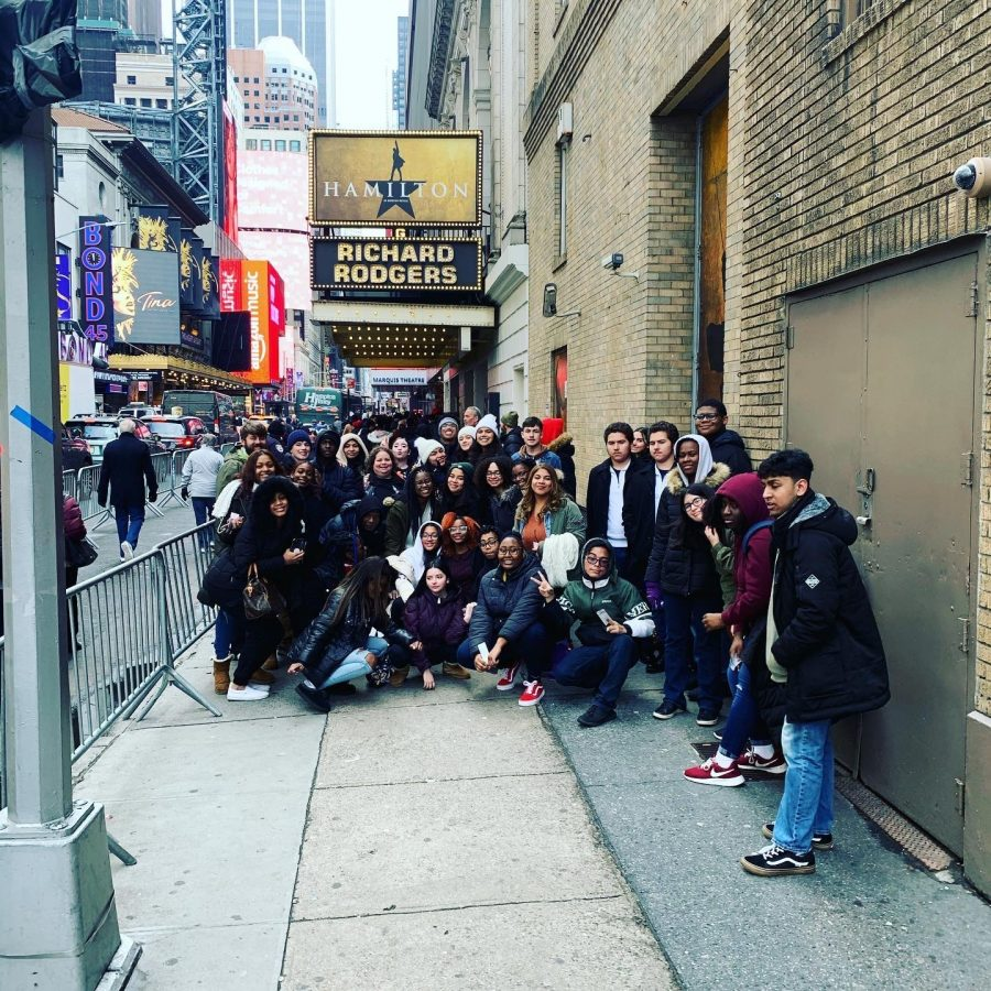 Students Take In Hamilton