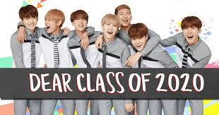 BTS Bids the Class of 2020 Goodbye