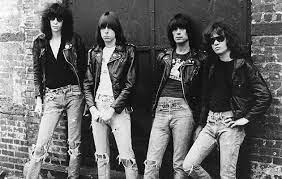 (Left to right: Joey Ramone, Johnny Ramone, Dee Dee Ramone, Tommy Ramone)